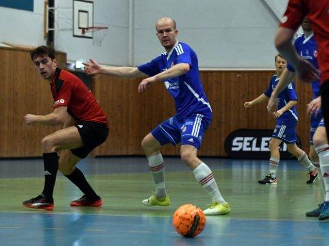 VANT: Erik Lundanes Jonvik var tidligere fast på KFUMs lag i andredivisjon i utefotballen, men tar nå en tørn for klubbens futsal-lag.