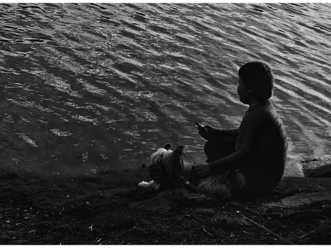 Våre barn trenger også gode ferieopplevelser, skriver denne mammaen som har en sønn med nedsatt funksjonsevne. Foto: Privat