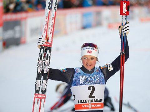 OVERTAR ARVEN: Ingvild Flugstad Østberg er en av vinnerkortene til langrennssjef Vidar Løfshus i Tour de Ski.  Foto: Terje Pedersen / NTB scanpix