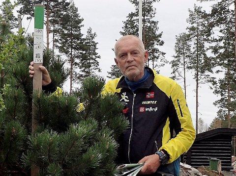 IVRIG: Olav Engen var innom alle stolpene landet rundt både i fjor og året før der. Han blogger i tillegg om turene sine.