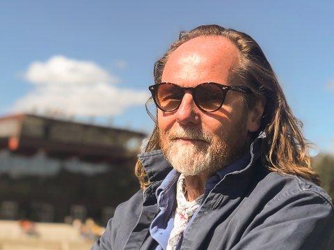 """Even Westby har mange """"våte drømmer"""" for Biri travbane, som han mener er i en særstilling i norsk travsport."""