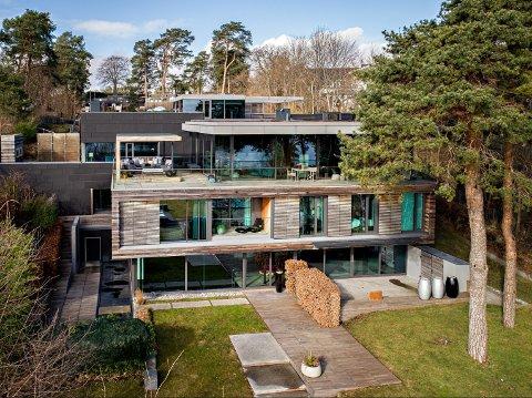 TIDENES DYRESTE: Det var gründeren av Sektor Alarm, Jørgen Dahl, som stakk av med denne boligen på Bygdøy til rundt 225 millioner kroner.