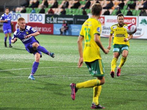 Kristoffer Nessø var tilbake på scoringslista mot Ull/Kisa og blir en viktig spiller mot Sandnes Ulf.|