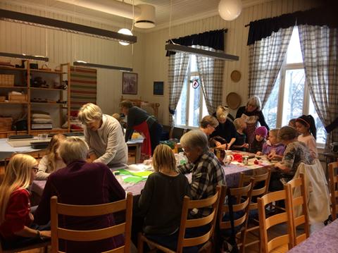 MORO FOR DE MINSTE: Oppegård Husflidslag arrangerer også i år det tradisjonelle Juleverksted for barn i alderen 6 – 12 år.