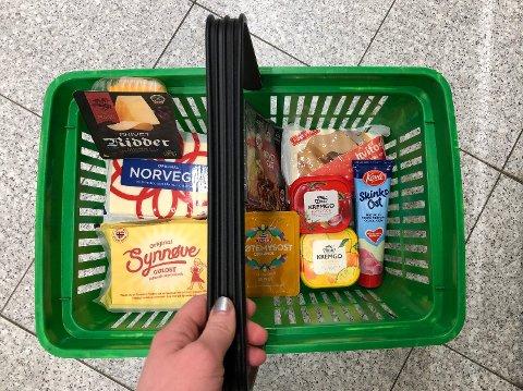 HANDLEKURVEN: Denne uken har vi sjekket prisen for flere typer ost i seks ulike butikkjeder.