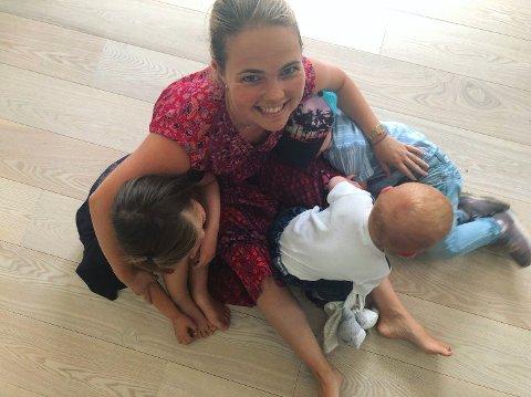 EKSPERT: Rose Arntzen er ernæringsfysiolog, trebarnsmor og generelt interessert i mat, men fikk en utfordring da datteren Ellinor var kresen.