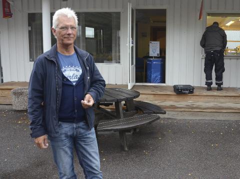 Fornøyd: Geir Anton Haga, styreleder i Larvik Turn, er fornøyd med mye av det som skjer og skal skje på Lovisenlund framover.