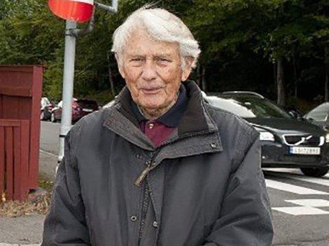 BLE 97 ÅR: Finn Anker Horn døde plutselig i går.