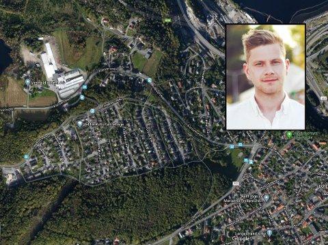 UTEN VANN: Andreas Andersson (28) og flere andre beboere på Farriseiedet og opp mot Kleiver har vært uten vann siden i går kveld. Han reagerer på at de ikke har fått noen informasjon fra kommunen.