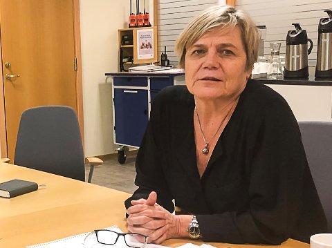NY SMITTE: Kommunalsjef Guro Winsvold forventer mer koronasmitte i Larvik i tiden framover. – Jeg frykter det og jeg er forberedt på det, sier hun.