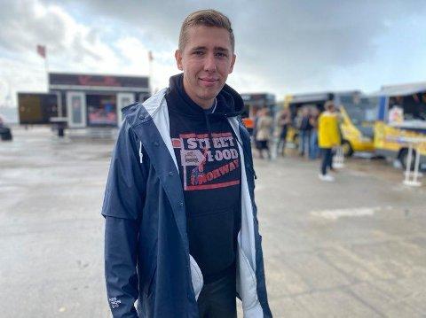 KLAR: – Vi har så lyst til at folk i Larvik skal få glede av dette tilbudet, sier Damian Piechaczek til ØP.