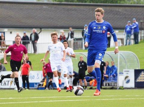 Tobias Lauritsen er ett skritt nærmere en kontrakt med Odd.