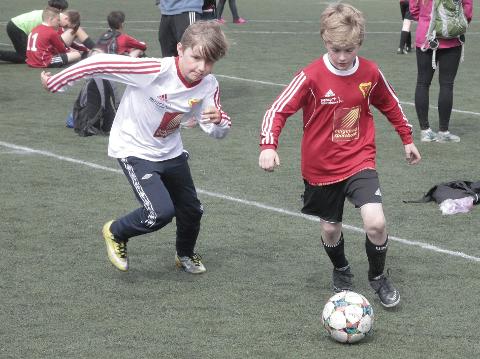 CUPHELG: 61 lag møtes til fotballcup på Ytteren lørdag.