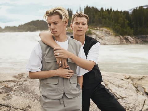 SMELL: Marcus og Martinus Gunnarsen (19) fra Trofors slo gjennom som popstjerner allerede da de var ti år gamle. I 2020 gikk millionbutikken med underskudd.