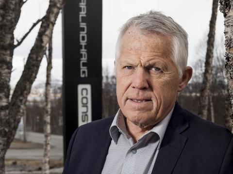 Satser i Lillestrøm: Daglig leder Jens-Arne Johnsen i Barlindhaug Eiendom.