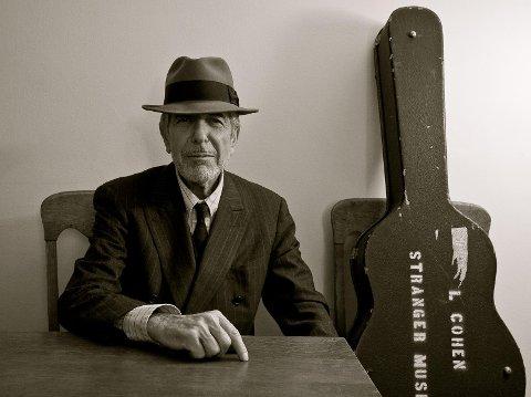 MUSIKALSK LEGENDE: Leonard Cohen døde mandag i forrige uke, 82 år gammel. (Pressefoto)