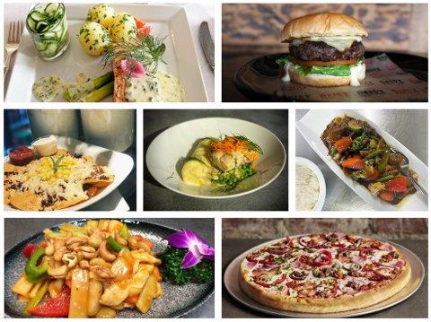 MYE Å VELGE BLANT: 21 retter fordelt på 13 spisesteder utgjorde årets utgave av Middag for en hundrings.