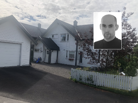 TATT FRA GÅRDSPLASSEN: I gårdsplassen til Kjetil Dybvik ble el-sparkesykkelen hans stjålet i forrige uke.