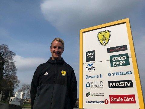 GAUK I SOLA FK: Morten Wiik Larsen er daglig leder i Sola FK.