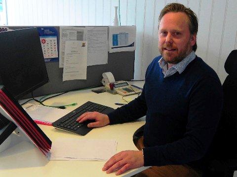DAGLIG LEDER: Sparta-kontoret blir den nye arbeidsplassen for Henning Svendsen fra 1. august.