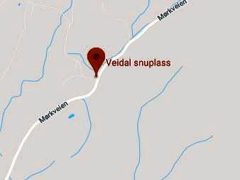 Løsnet skudd: Det skal være i dette området ved Veidal, ikke langt fra Mørk i Spydeberg, at konfrontasjonen skjedde.
