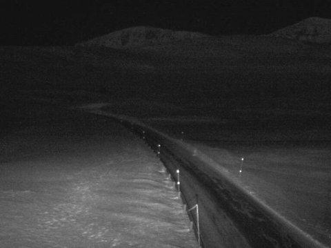 OPENT: Slik ser det ut ved Hestavollen på Vikafjellet klokka 6.13 fredag morgon.