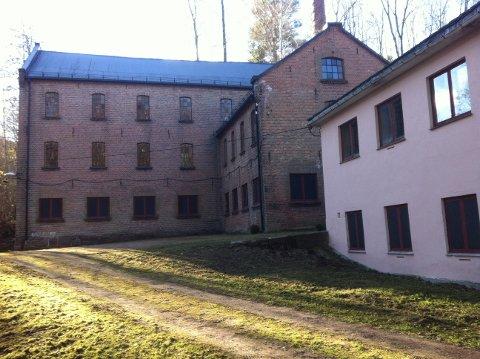 Snart vil det være mer aktivitet her ved den gamle fabrikken på Nedre Berger