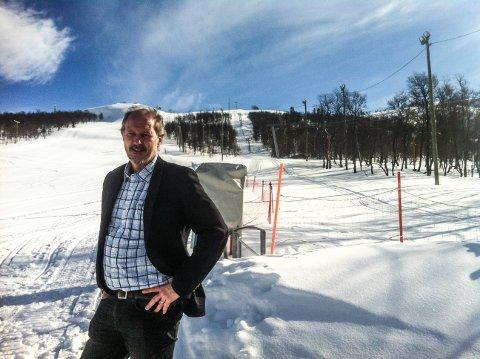 LETTET: Hotelldirektør ved Rauland Høgfjellshotell, Kristian Samnøen