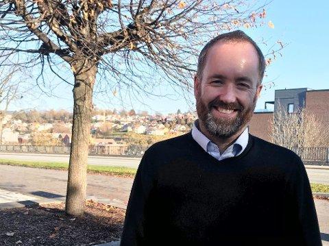 NY REDAKTØR: Eirik Haugen blir ny ansvarlig redaktør og daglig leder av Østlands-Posten i Larvik.