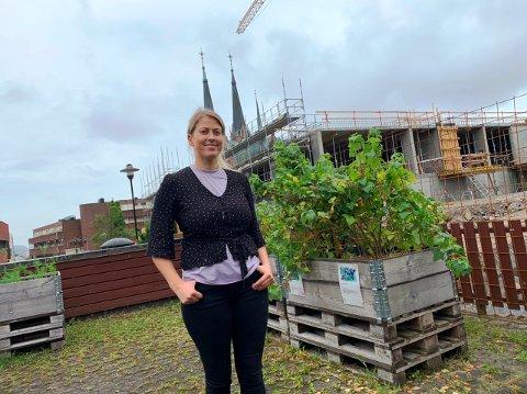 GJØR BYDELEN BEDRE: Kathrine Jensen i Skien kommune har lenge jobbet med å gjøre bydel Kverndalen mer attraktiv.