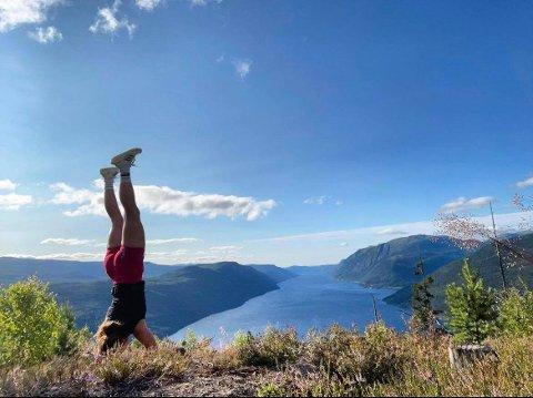 UTSIKT: Fortsatt finnes det mindre kjente utsiktspunkter i Telemark. Her fra Mobrannuten i Tinn.