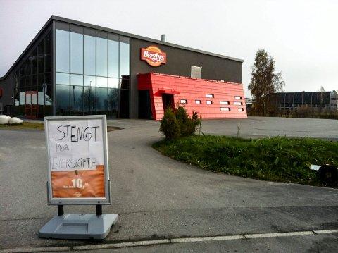 KONKURS: To ulike Bergby-selskaper har gått konkurs her i løpet av drøye fire år. Nå er også selskapet som eier bygget konkurs.
