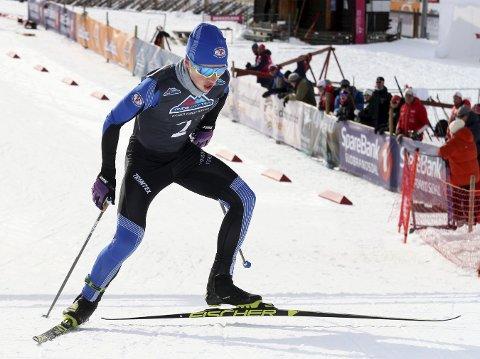 Johan Fredriksen Orset er klar for ungdoms-OL.