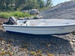 Denne båten ble funnet onsdag.