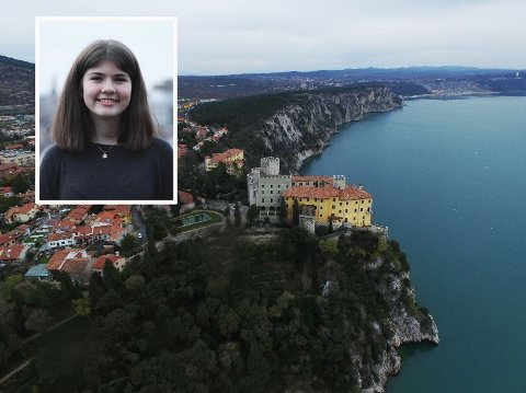 TIL ITALIA: Her skal Tiril Flatebø (17) ta de to siste årene på videregående skole.