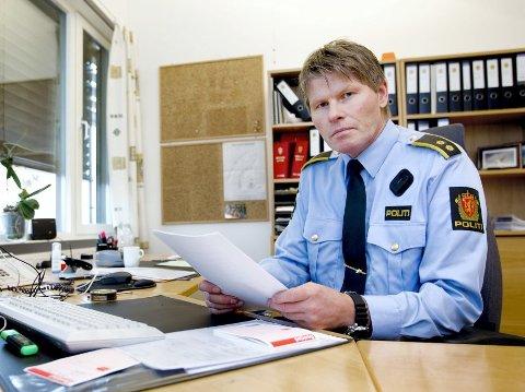 NYROLLE:Tirsdag 1. mai startet politioverbetjent Geir Bakk Anthonsen i jobben som tjenestestedsleder i Nittedal.