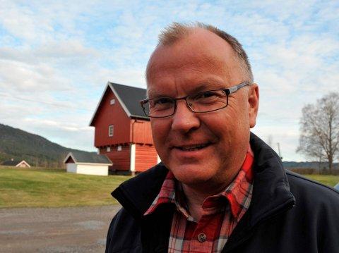 BOLIGSTRATEG:Ole Feet jobber med boligutvikling. Han driver Holter gård gjennom Nittedal Gårdsdrift. Nå er han også involvert i selskapet Navneberget Eiendom AS, som skal drive utvikling ved Hamar.