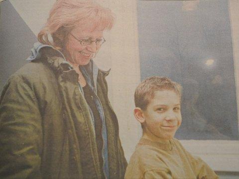 DEBUTANTER: «1732 Høtten» var Karin Julsruds debut som regissør og Gaute Skjegstads debut som filmskuespiller i 1998. Gaute har fortsatt som skuespiller i voksen alder og blant annet spilt i «Hotel Cæsar».