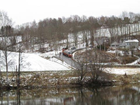 Nederste del av Vassumbakken ligger i Frogn, men når det blir bratt er du kommet inn i Ås kommune.