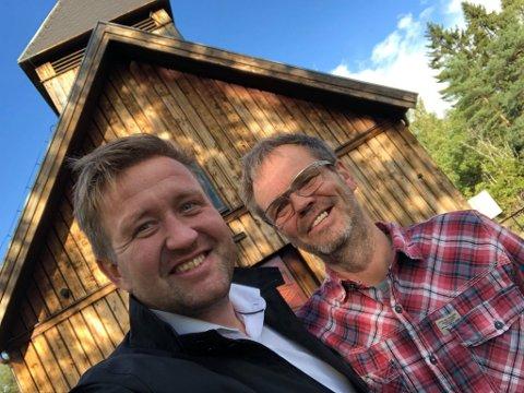 Skal snakke: Ordforer Truls Wickholm har takket ja til å snakke med Svein Hunnestad under vesper denne uka.