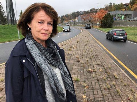 STORE PLANER: Bente Heiersjø (H) sier det er grunn til å se nærmere på planene for Ullerudsletta. FOTO: Ole Jonny Johansen