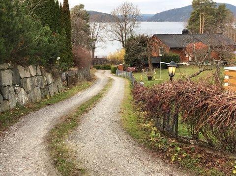 BRÅK: Det er her i Sjøstuveien i Drøbak at det krangles om veirett. FOTO: Ole Jonny Johansen