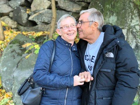 Saken om Tom Ullsgård som fant kjærligheten med  Aud Henny Larsen ble lest av mange.