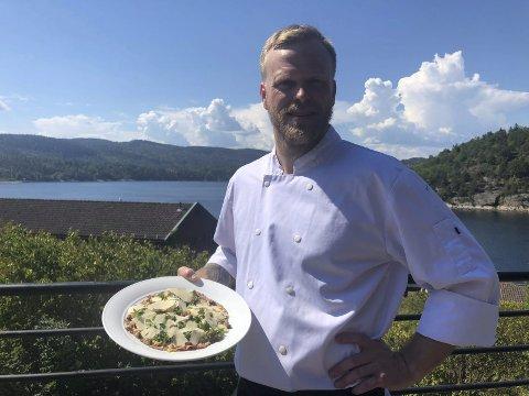Kjøkkensjefen anbefaler: Andreas Andersson, kjøkkensjef på Oscarsborg Hotel & resort går for Italia i sommer.