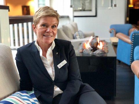 -  Nå skal i i tiden framover jobbe for Christian Ringnes, sier Laila Aarstrand fra Drøbak. FOTO:
