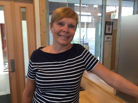Mette Helstad opplyser at det ved passkontoret i Ski er lange køer fram til slutten av mars. Arkivfoto
