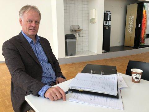 BOBESTYRER: Bobestyrer for de to Drøbak-konkursene er advokat Trond Dyvik. FOTO: Ole Jonny Johansen