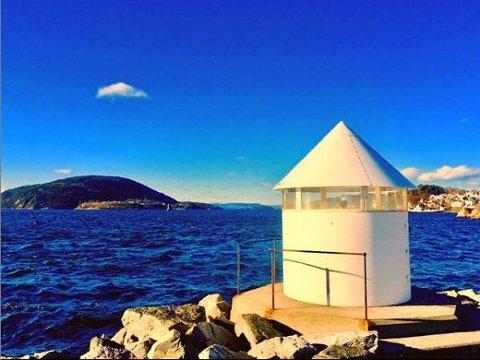 Frank Sundby har hashtaget dette solbildet fra Drøbak med #amtaland på Instagram. Del dine bilder med oss du også.