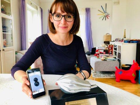 Sjokolademester: Iryna Bakanova gjor det godt i en velsmakende bransje.