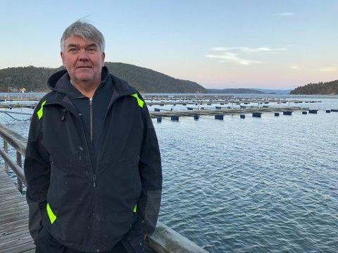TOMT: - Ikke en eneste båt er å se i Ytre havn, og årsaken til det er frykten for ekstremvær, sier havnesjef Morten Engelien. FOTO: Ole Jonny Johansen